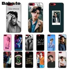 Babaite American TV Riverdale Jughead Jones Soft Phone Cell Phone Case for iPhone 8 7 6 6S Plus X XS MAX 5 5S SE XR Mobile Cover(China)