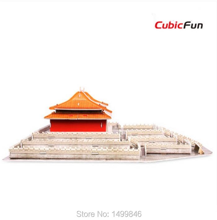 DIY 3D paper building model puzzle toy MC099H japan Himeji-jo assemble game 1pc
