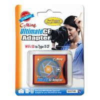 SD SDHC SDXC WiFi SD typu II CF ostateczny CF karta adaptera adapter