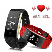 S2 Smart Band Bracelet Moniteur de Fréquence Cardiaque Fitness IP67 Étanche Sport Tracker Smartband Bracelet Pour Téléphone Intelligent Android iOS