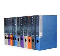 Комикс MC-55 A4 практичный пластиковый файл поле информация коробки документ файлы коробка для хранения случаях бумаги Организатор офисная те...
