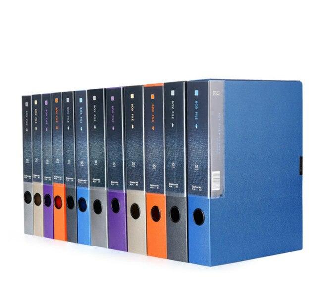 COMIX MC-55 A4 practical plastic file box information boxes document files box storage cases  sc 1 st  AliExpress.com & COMIX MC 55 A4 practical plastic file box information boxes document ...
