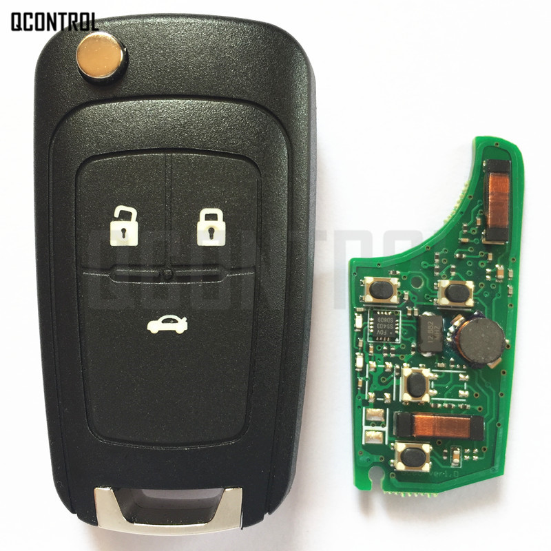 Image 3 - QCONTROL Car Smart Remote Key for Chevrolet 433MHz ID46 Chip Keyless go Comfort access-in Car Key from Automobiles & Motorcycles