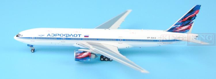 Phoenix 11160 Russian aviation VP-BAS 1:400 B777-200ER commercial jetliners plane model hobby phoenix 11037 b777 300er f oreu 1 400 aviation ostrava commercial jetliners plane model hobby