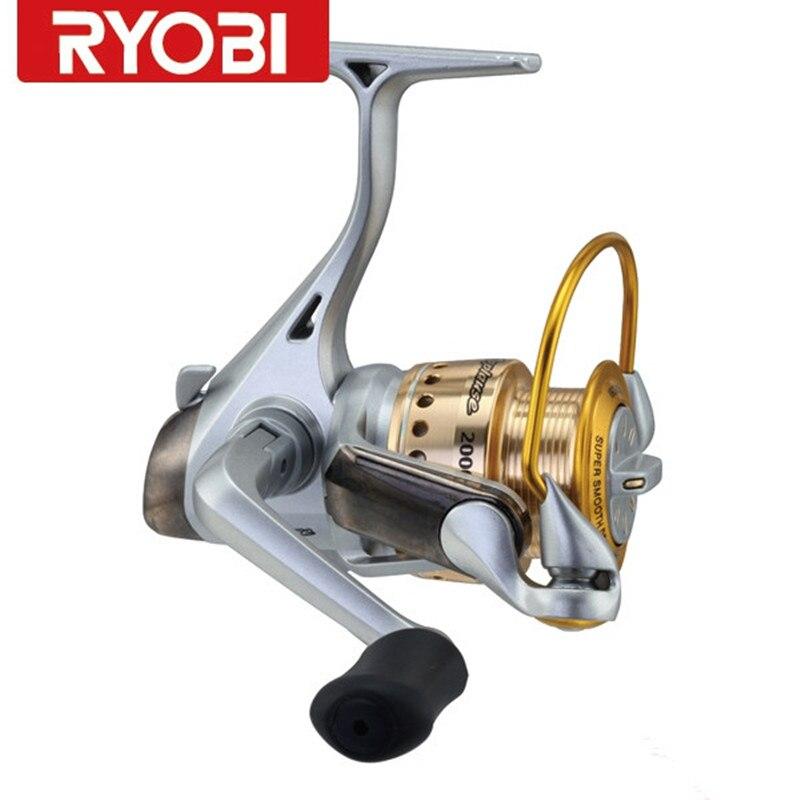 100% Original RYOBI applaudissements corps complet en métal pas cher filature pêche Moulinet Carretes De Pescar Olta Moulinet carpe bobine livraison gratuite