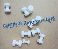 PTFE schroeven 4F bouten plastic teflon bouten PTFE-in Persoonlijke Zorgtoestellen Onderdelen van Huishoudelijk Apparatuur op