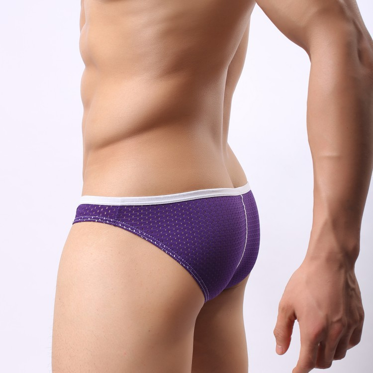 L XL, 2015 New Men's Triangle Mesh Sexy Tight Underwear,Gay Briefs ...