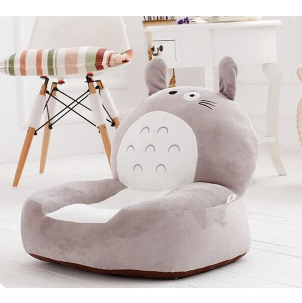 High Quality brand New Baby Bean Bag Kids Chair&Sofa Totoro Children's Plush Chair Cartoon Seat Sofa Cotton Toys For Children