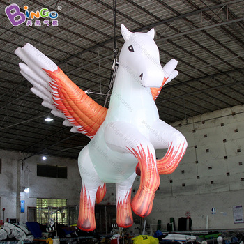 2018 Newly 2.8M high inflatable pegasus hanging type inflatable pegasus for party decoration blow up pegasus for display toys фото