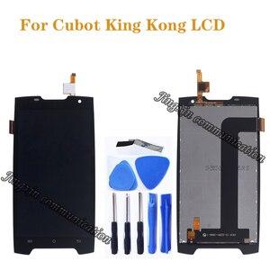 Image 1 - 5.0 cala dla Cubot King Kong LCD + zamiana digitizera ekranu dotykowego dla Cubot Kingkong LCD naprawa ekranu wyświetlacza części