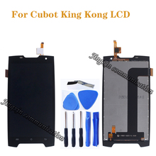 5.0 inches for Cubot King Kong LCD + touch screen digitizer replacement for Cubot Kingkong LCD display screen repair parts cubot king kong 3g smartphone