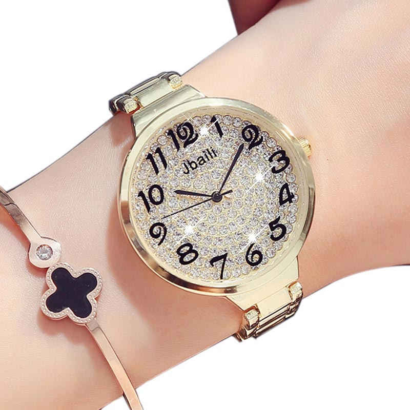 Fashion Golden Silver Rhinestone Women Watches Simple Style Quartz Watches Ladies Wrist Watch Elegant Clock With Gifts Box пожарная машина пламенный мотор 1 32 служба пожаротушения красный 18 см 870067