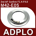 Pixco  AF Confirm Adapter 2nd Adjustable adapter Suit For  M42 to Canon E0S Silver 7D 5D Mark II 50D Camera