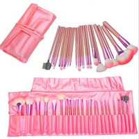 Professional 22Pcs Makeup Brush Set Beauty Cosmetic Maquiagem Brushes Pinceaux Kabuki Make Up Kits Pouch Bag