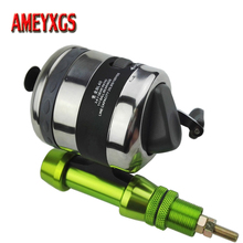 1set Archery Hunting Bowfishing Reel And Aluminum Fish Bow Base Adapter For Outdoor Shooting Accessories
