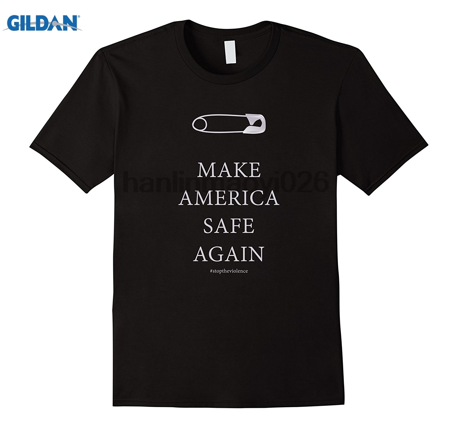 GILDAN Safety Pin Shirt Make America Safe Again ...