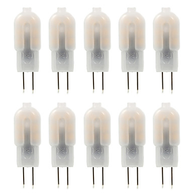 G4 LED Bi-pin Lights 12 SMD 2835 360 Lm Warm White Cold White Decorative LED Bulb Lamp Replace Halogen Spotlight (DC12 V/10pcs)