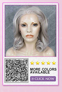 synthetic lace front wig 8