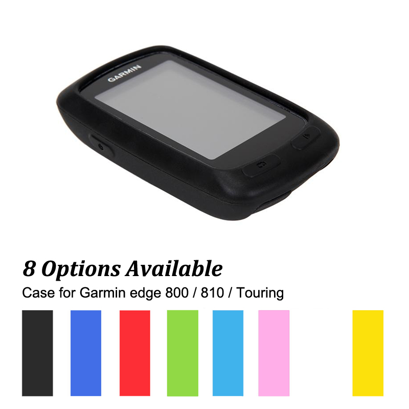 Rubber Protect Skin Case for Cycling Computer GPS Garmin Edge 800 / Edge 810 / Edge Touring Muti-Colors garmin edge 810