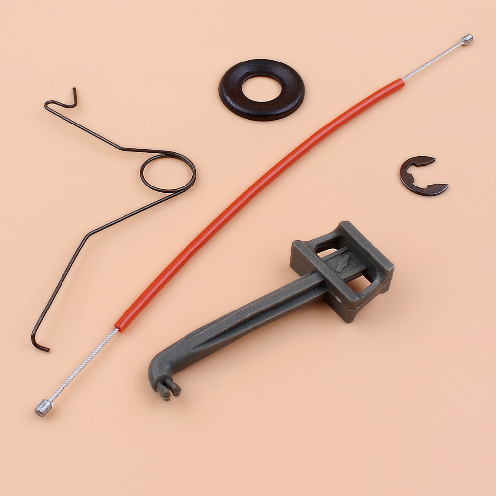 Throttle Trigger Cable Wire Spring Choke Rod Tune Up Kit For Husqvarna 362 365 371 372 Gas Chainsaw Parts 503 71 76-01