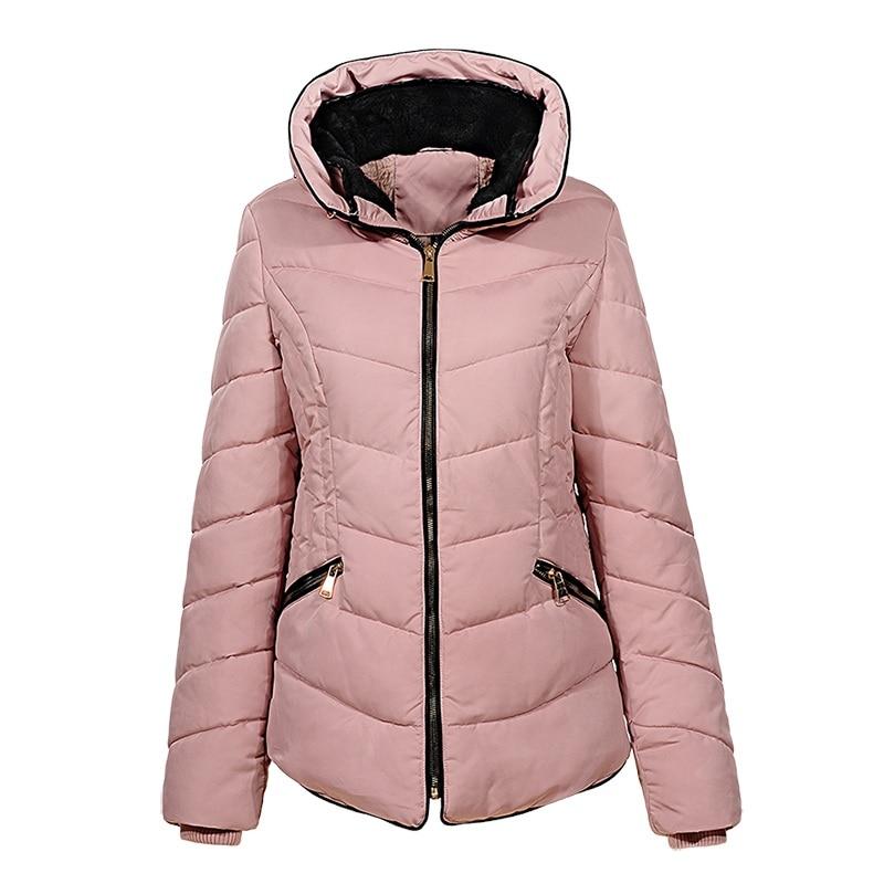6713 Manteaux Solide Col Épais Laine Fermeture Femme Femelle pink Red Jacketds D'hiver Parkas Doublure Yellow Chaud Stand Wma story dark 2018 Glo Casual Éclair xwOnfHA