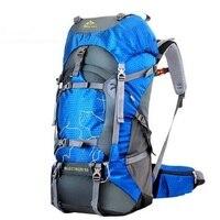 FengTu 60L ハイキング男性と女性の防水キャンプ旅行リュックアウトドア登山スポーツバッグ