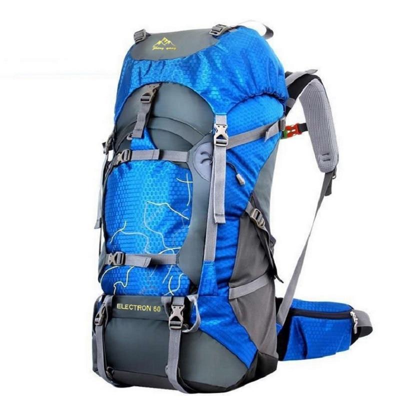 FengTu 60L Hiking Backpack Daypack For Men And Women Nylon Ws