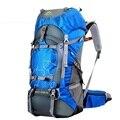 FengTu 60L mochila de senderismo mochila para hombres y mujeres impermeable mochila de viaje de Camping al aire libre bolsa de deportes de escalada