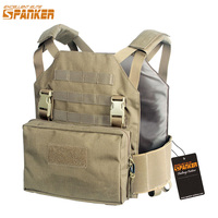 EXCELLENT ELITE SPANKER Tactical Camouflage Molle Modular Nylon Vest Outdoor Jungle Hunting Equipment Tactical CS Vests