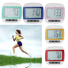 Waterproof LCD Run Step Pedometer Walking distance Calorie Counter