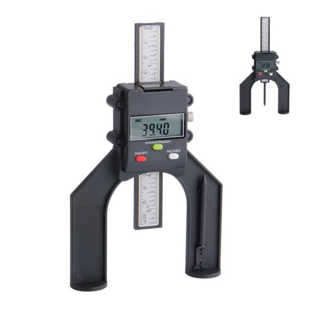 Digital depth gauge 80mm with magnetic feet lcd height gauges digital depth gauge 80mm with magnetic feet lcd height gauges calipers for router tables woodworking measuring greentooth Gallery