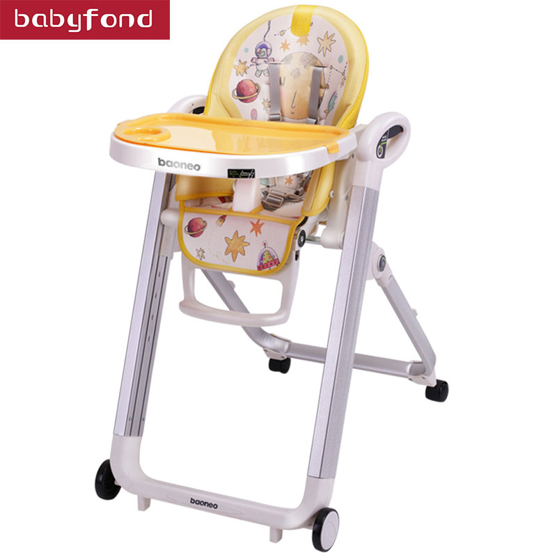 Babydond Baby Dining Chair Portable Baby Chair Foldable Dining Chair Seat Adjustable Eating Chair