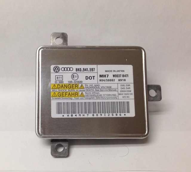 For Audi A3 Bi Xenon Headlight Low Beam D3S Control Unit