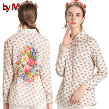 plus flower shirt print