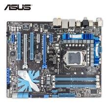 ASUS P7P55D-E про запас Новый настольный материнская плата P55 LGA 1156 i3 i5 i7 DDR3 16 г SATA3 USB3.0 ATX