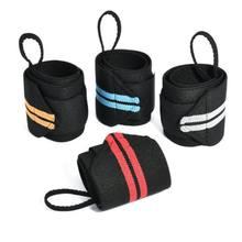 2019 nouveau soutien de poignet de musculation enveloppes barre de levage de poids sangles bande de genou de gymnastique sport élastique kinésiologie bande rouleau