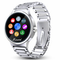 2016 U6 Bluetooth Smart Watch for Health Metal Bracelet Watch with Heart Rate Monitor Pedometer Remote Sports For Android Iphone