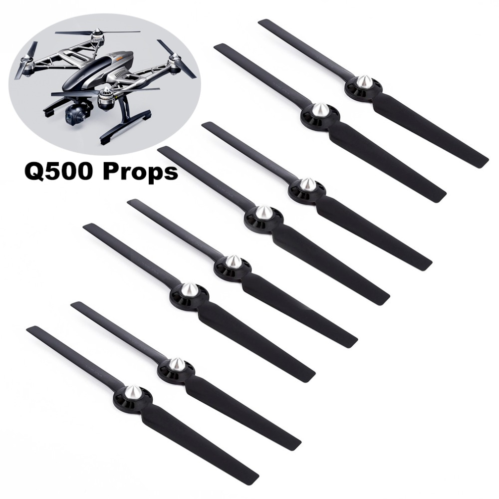 8Pcs Propellers for Yuneec Typhoon Q500 Drone Q500M 4K Self-Locking Quick Release Blade CW CCW Replacement Props Spare parts