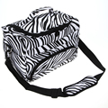 1Pcs Pro Big Salon Hair Tool Bag Zebra Multifunction Design Hairdressing Portable Tool Case Hair Styling Tools Storage Toolkit