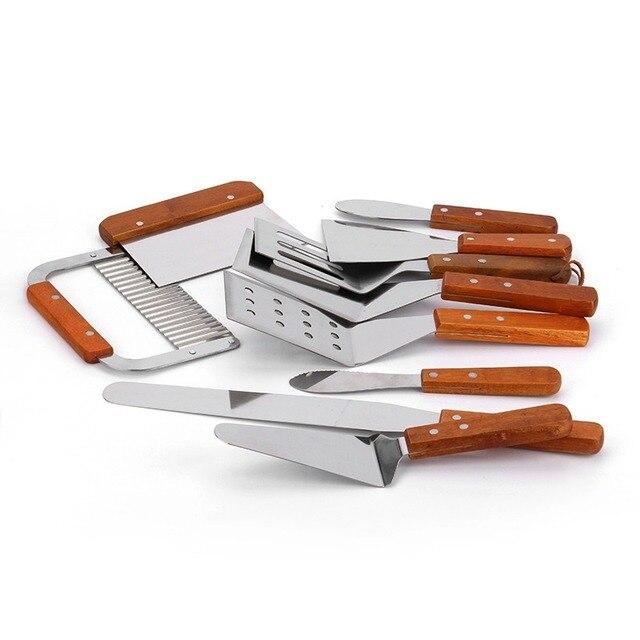 Тесто резак/шпатель/картофельный нож/стейк лопатой/салат скребок Chopper пиццы/Принадлежности для шашлыков/выпечки Инструменты /кухня Инструменты