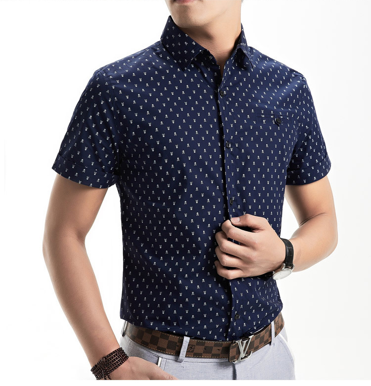 Casual short sleeve shirts for men is shirt for Printed short sleeve shirts