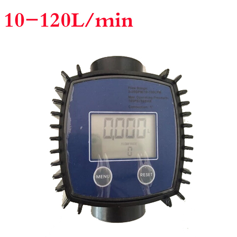 ФОТО digital turbine flowmeter liquid flow meter  electronic metering methanol water diesel kerosene 1 inch stainless steel Interface