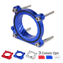 NICECNC Car Throttle Body Spacer Air Intake Manifold Extender Adaptor Mounting Bolts Set For TOYOTA 86 MODELS ONLY 2012-2017 недорого