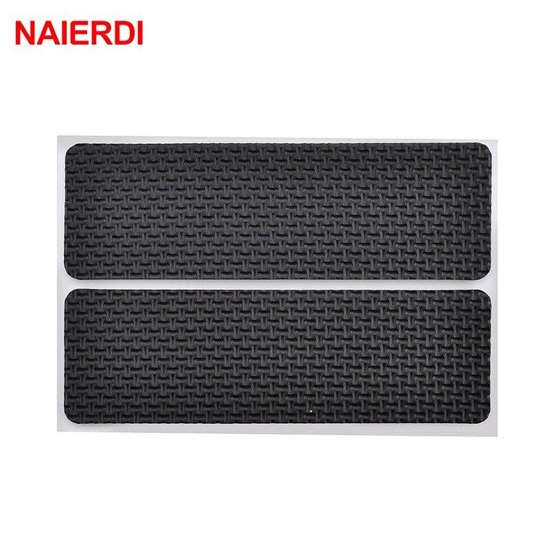NAIERDI Anti Slip Mat Self Adhesive Furniture Pads Feet Rug Felt Pads Bumper Damper For Chair Table Protector Hardware-2