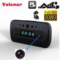 Volemer 2017 HD 1080P Camera Clock IR Night Vision Motion Detection Mini DV Remote Mini Security