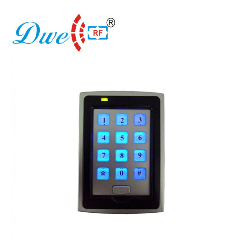 DWE CC RF access control card reader low cost backlight keypad wiegand rfid reader emid chip card readers шорты для мальчика грачонок цвет серый 01 950 размер 110