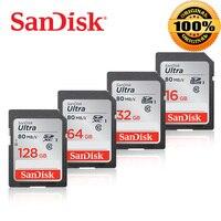 SanDisk Ultra sd-карта карта памяти 128 ГБ sd-карта 64 ГБ 32 ГБ 16 ГБ micro SD карта C10 UHS-I 80 МБ/с./с скорость чтения для камеры видеокамеры