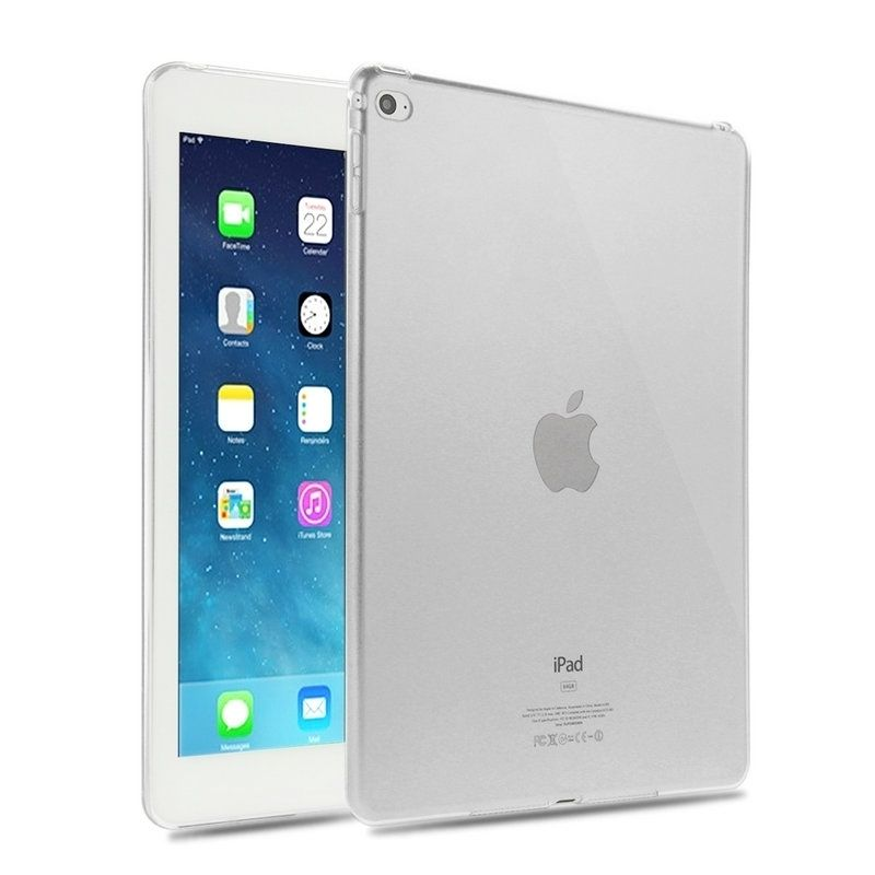 Clear Transparent Silicon TPU Case For New iPad 9.7 2017 2018 Cover Case For iPad Air 1 2 Case Tablet Cover For iPad pro 10.5