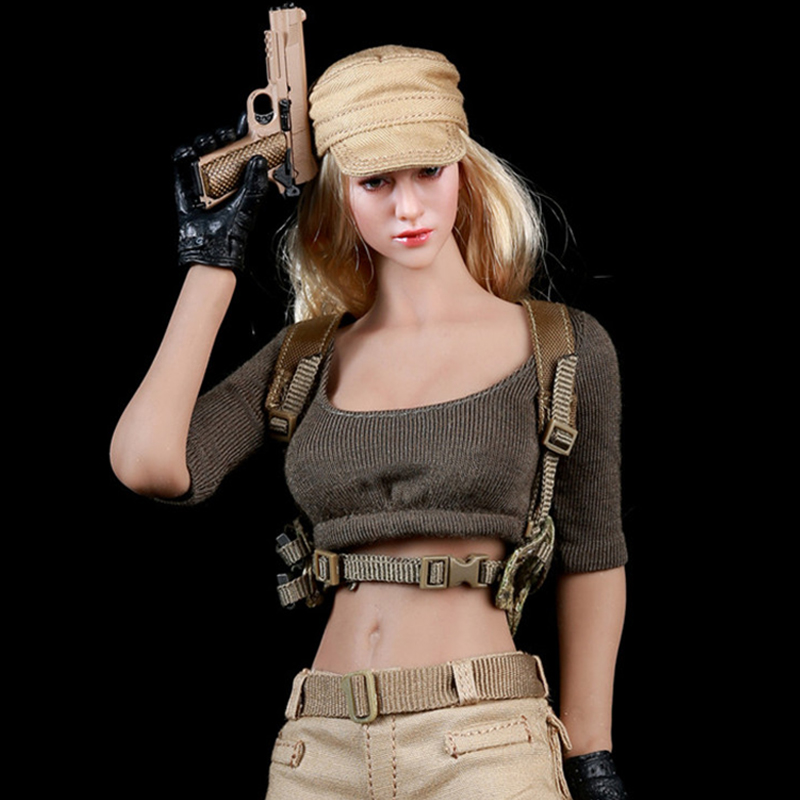 """1//6 Scale Fire Girl Toys FG010 Hat Cap Model For 12/"""" Hot Toys Action Figure"""
