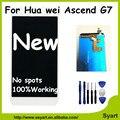"""5.5 """"polegadas lcd completo aaa qualidade digitador touch para huawei g7 +++ display lcd tela digitalizador substituição para huawei ascend g7"""